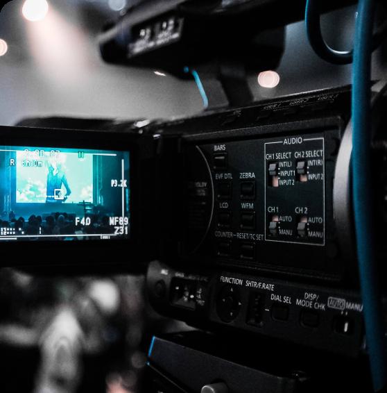 Câmera de Vídeos Profissionais